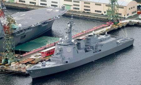【国防】イージス艦8隻目「はぐろ」就役。海自、ミサイル防衛強化