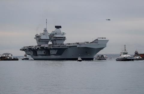 【朝日新聞】イギリス空母、なぜアジアへ 中国の反発覚悟で求めるもの