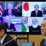 【朝鮮日報】米「クアッド4カ国、中国に対するいかなる幻想もない」日米印豪による初のクアッド首脳会議