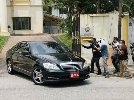 北朝鮮大使館員に退去命じる 断交通告を非難―マレーシア