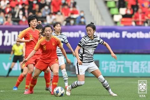 【敗退】韓国サッカー女子 東京五輪出場ならず=中国と引き分け