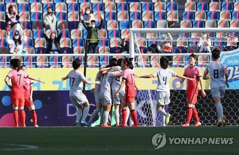 【韓国サッカー女子】中国に1―2で敗北=東京五輪出場遠のく