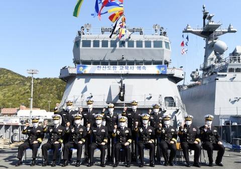 【過大評価】韓国海軍、初の訓練艦配備…名称は壬辰倭乱で日本に大勝した戦闘に由来