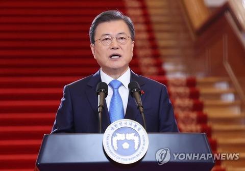 【韓国】 文大統領の支持率また過去最低更新 下げ止まらず30%に