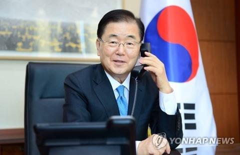 【韓国チョン外交部長官】独・マース外相と電話会談 G7など巡り意見交換