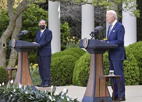 【日米首脳会談】 バイデン米大統領「われわれは日本の安全保障を鉄壁で守ることを確認した」