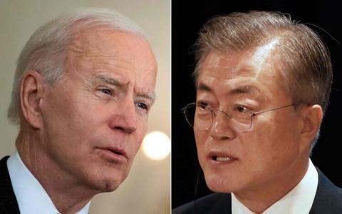 【朝鮮日報】今月21日に韓米首脳会談、ワクチン・スワップも議題に