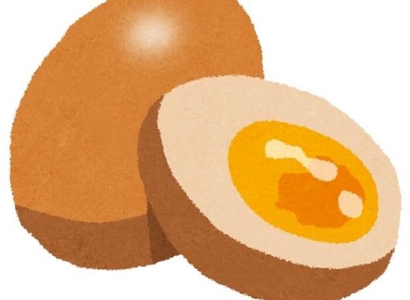 【画像】NHK観てるんやが、この煮玉子の形綺麗すぎん?wwwwwww
