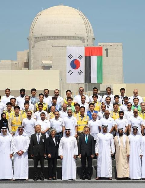 【友好の証】韓国「輸出1号」UAE・バラカ原発が商業運転開始…文大統領がお祝いの書簡「UAE革新のアイコンであり、韓国・UAEの友情のシンボル