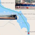 【速報】 スエズ運河、また座礁する イタリアとギリシャの石油タンカー