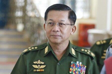 ミャンマー国軍トップ出席へ 今月下旬のASEAN会議