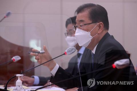 韓国国会 海洋放出巡る発言で与党も外相叱責 「国民の情緒と違う」