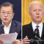 【韓国】文大統領 22日にバイデン氏と初の対面会談 青瓦台高官「現在調整中」