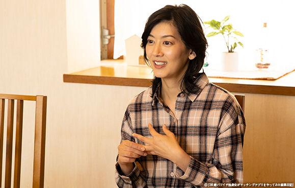負けたという言葉は使いたくない佐藤藍子、年令重ねる女性にエール