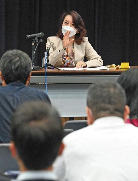 【韓国の日本に対するヘイトにも罰則を】ヘイトスピーチに踏み込んだ罰則を…在日韓国人作家 深沢潮さんが訴え 解消法施行5年で超党派議連が集会