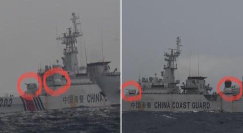 【尖閣諸島】石垣市議会議員・「今回、中国海警は砲を搭載していました。恐らく前後で四門。この海警船を撮影したのは僕が初めてらしいです」