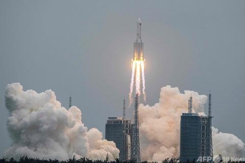 【中国】独自の宇宙ステーションのコアモジュール(中核施設)「天和」打ち上げ