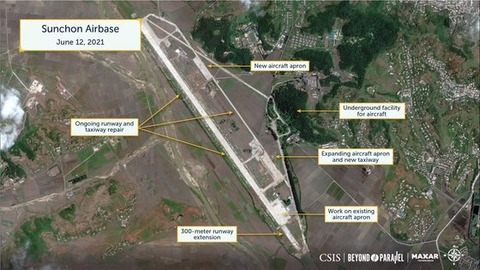 北朝鮮、対南主力機ミグ29の基地で大々的補修、夜間浸透能力拡大