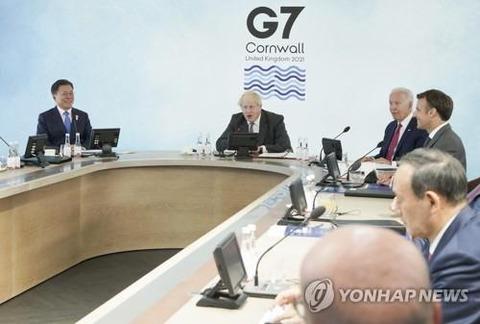 【韓国政府】署名したG7声明 中国けん制との指摘に「特定国狙わず」