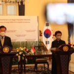 【インドネシア】「韓国の投資に満足」チョン外相と面会 国産戦闘機共同開発事業や潜水艦事業「特別戦略的パートナー関係を象徴」