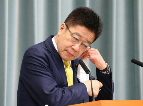 【無慈悲】韓国・文大統領の来日報道「事実はない」 加藤官房長官