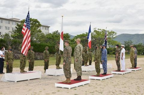 【自衛隊】今年に入って外国軍と共同訓練急増…韓国とは2018年以降「ゼロ」