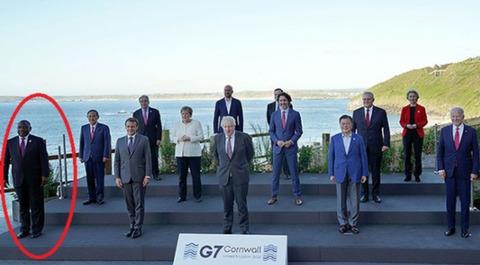 【韓国】政府、G7集合写真を捏造し「これが韓国の位相」と宣伝 → 加工とバレる