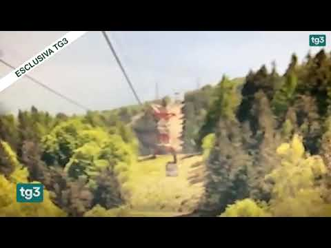 【GIF】ロープウェイ事故の動画が怖すぎるんだが、、