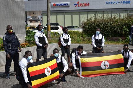 行方不明だったウガンダの選手 三重で見つかり、帰国へ