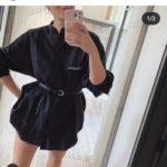【テニス】シャラポワ、超ミニの私服ワンピース姿を公開!ファンに質問「短パンはいた方がいい?」