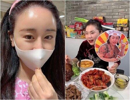 【バ韓国】女性タレントの「中国人姑」が手に掲げたプラカードが物議に…「旭日旗」連想で炎上