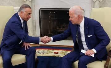 【バイデン外交】米、イラク駐留軍の戦闘任務を年内終了 カディミ首相と合意
