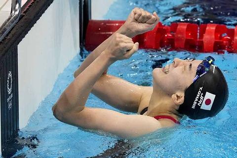 【東京五輪】大橋悠依、金メダル! 競泳 400m個人メドレー