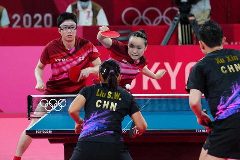 【東京五輪】オリンピック卓球混合ダブルス、水谷隼/伊藤美誠組が金メダル! 日本としては8枚目で金メダルではランキングトップ!