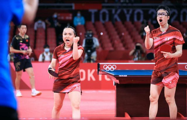 【五輪/卓球】敗れた中国・許が伊藤美誠を称賛「男子選手にも立ち向かう勇気がある。とても勇敢だった」