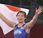 【東京五輪】オリンピック、レスリング女子62kg級で川井友香子が金メダル!