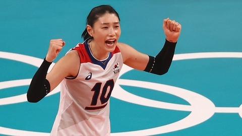 【韓国の妄想】日本もハマった女子バレーのキム・ヨンギョン・・・『ヨン様=ヨンギョン』ブーム到来