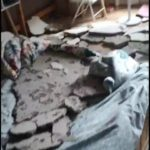 【M 0.0】 中国、コンクリートのマンションが天井崩壊してしまう 住人「本当に怖い」 動画あり