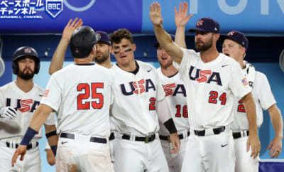 【東京五輪】野球・米国代表が韓国代表破り決勝進出!! 投打噛み合いメダル確定、韓国は3位決定戦へ アメリカ 7-2韓国