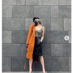 西内まりや 私服に驚き 大胆タンクトップ&美脚にフェラガモヒール「イイ女」