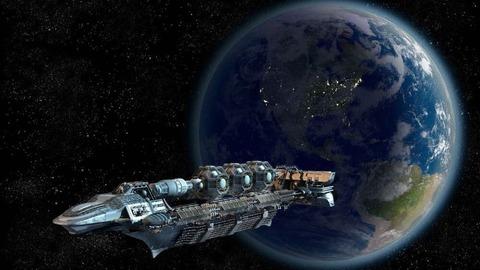 【中国】全長1kmの超巨大宇宙船建造を本格的に検討…闇を切り裂き 飛び行く先は 遠く輝く青い星