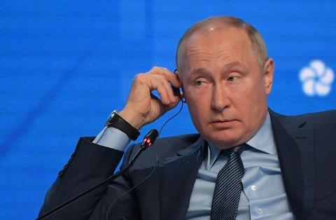 「中国は台湾に武力行使せず」 プーチン氏が見通し示す