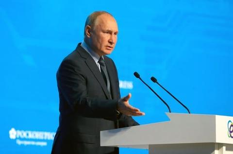 ロシア、2060年にCO2排出実質ゼロ プーチン氏表明